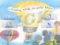 Giới thiệu phần mềm in giấy khen miễn phí dễ sử dụng