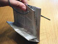 Hướng dẫn làm túi xách bằng giấy báo