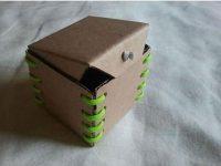 Hướng dẫn làm ống tiết kiệm độc đáo từ hộp carton