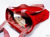 Hướng dẫn làm túi xách bằng vải sử dụng hai mặt độc đáo